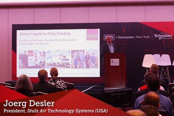 Joerg Desler talks data center cooling