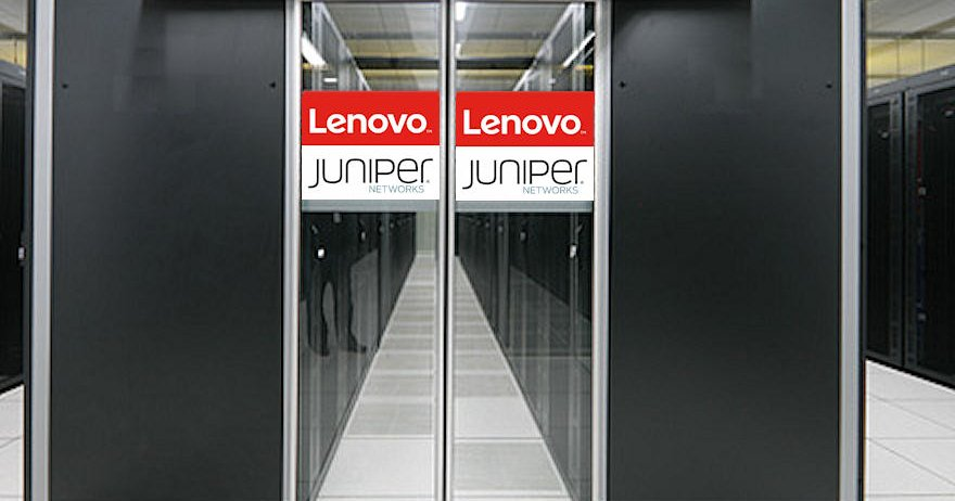 Lenovo converges with Juniper Networks in a global