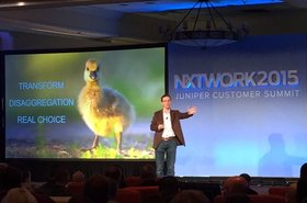 Jonathan Davidson, EVP and GM of Juniper Development and Innovation at NXTWORK 2015