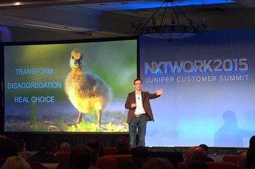 Jonathan Davidson, EVP and GM of Juniper Development and Innovation at NXTWORK 2015