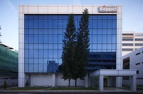 Keppel data center in Singapore
