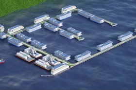 Floating Data Center Concept