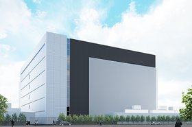 Artist's rendition of new Japan hyperscale data center by Lendlease Data Centre Partners (LLDCP)