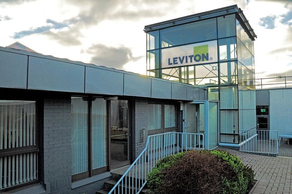 Leviton office in the UK