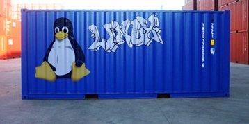 Liniux container