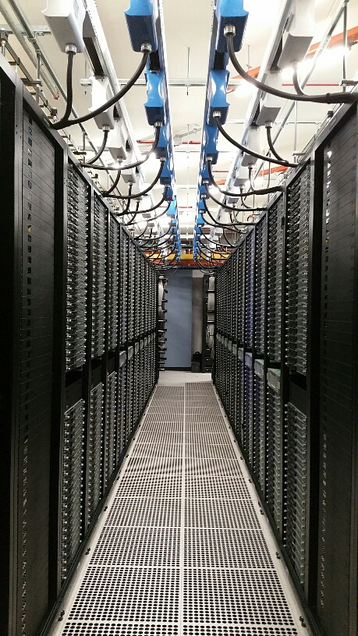 LinkedIn's data center in Singapore