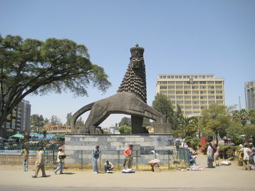 Lion of Judah, Addis Ababa.jpg
