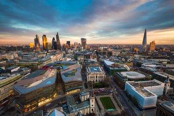 london city skyline thinkstock photos zoltan gabor