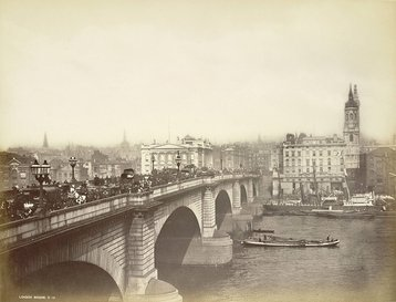 London Bridge, circa 1870