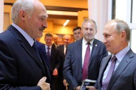 Lukashenko meets Putin