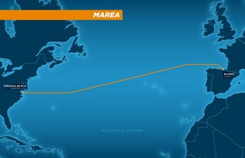 MAREA subsea cable