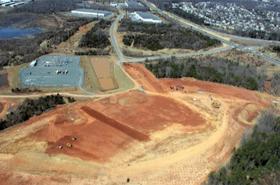 MCC1 building site, CloudHQ
