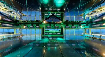 A disco on a MSC Cruises ship