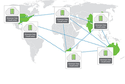 Dimension Data's cloud services map