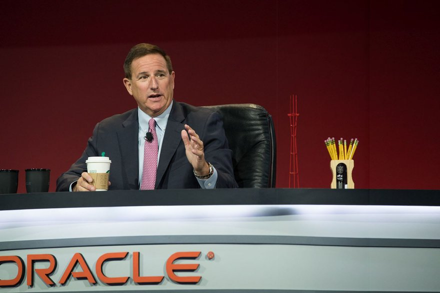 mark hurd oracle lead
