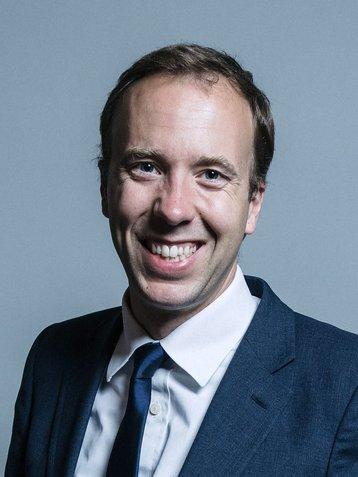 Matthew Hancock MP, Secretary of State for Digital, Culture, Media and Sport
