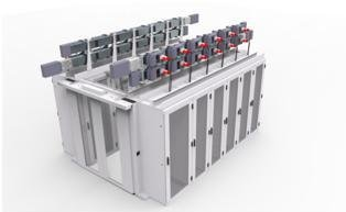 Minkels Busbar System with Smart Tap-Off Boxes