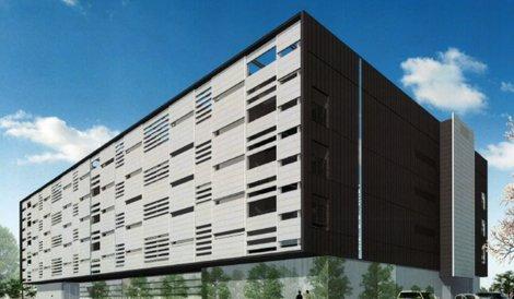 Mitsubishi's new Japan data center in Mitaka