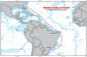 Monet Cable Route