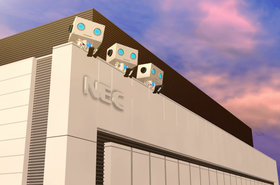 NEC data center in Kobe, Japan