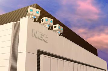 NEC data center in Kobe, Japan