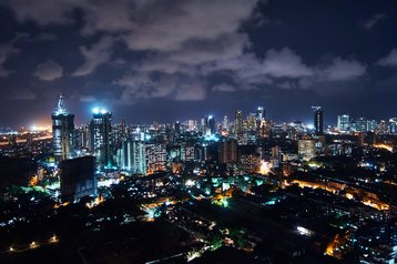 Mumbai city at night