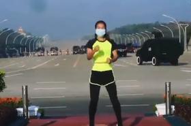Myanmar Aerobics Coup