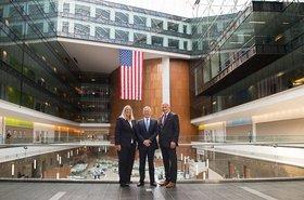 Ex-Defense Secretary Jim Mattis visits National Geospatial-Intelligence Agency HQ