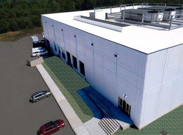 NJFX data center - 3D rendering
