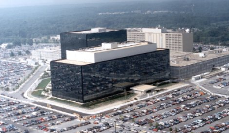 The NSA headquarters in Fort Meade, Maryland