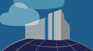 NTT's data center - artist's impression