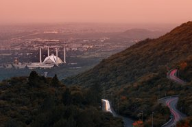Islamabad, view from from Margala Hills National Park