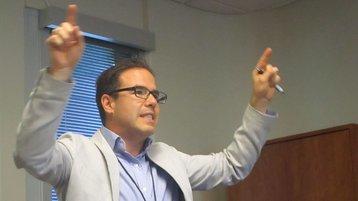 Charles Ferland, vice president, Nauge Networks