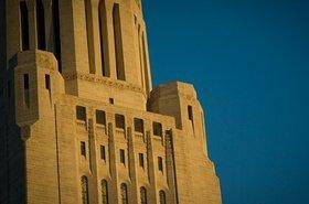 Nebraska State Capitol. Photo by Jeff Hunter. Source: Nebraska government's official website.
