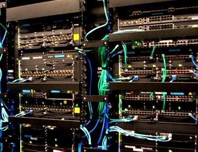 Network equipment at Brocade DC