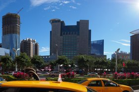 New Taipei - Banqiao District skyline
