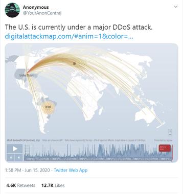 No DDoS attack