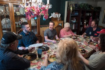 Mark Zuckerberg in Ohio