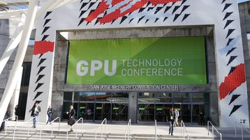 Nvidia GTC Entrance