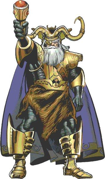 Odin asgardian god