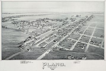 old map plano 1891