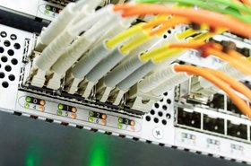 Optic cable Ethernet data center switch Thinkstock Igor Mazej