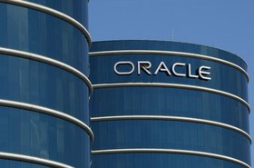 Oracle world headquarters in Redwood Shores, Calif.