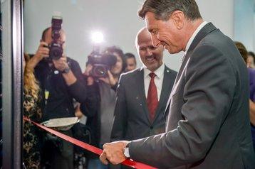 Slovenian president Borut Pahor opens Arctur-2