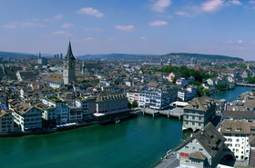 The city of Zurich. Image courtesy of the Creative Commons.