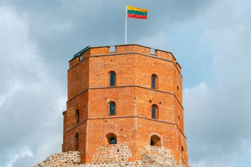 Tower Gedemin in Vilnius