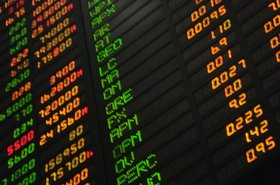 Philippines stock market board