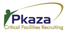 Pkaza Critical Facilities Recruiting Logo