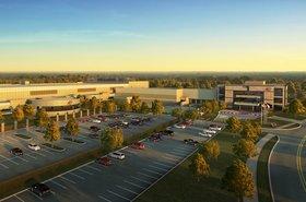 QTS' data center in the Dallas-Fort Worth area