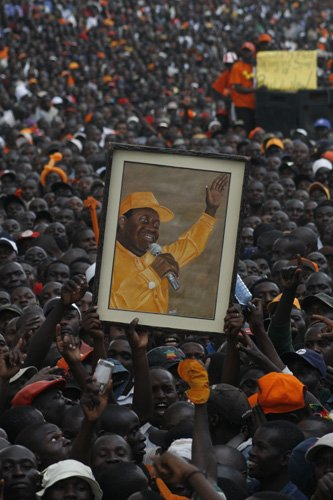 Orange Democratic Movement supporters rally, 2007